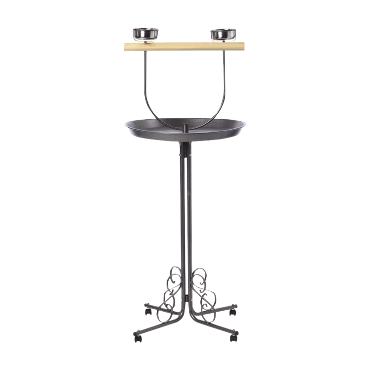 ez care pet bird t stand bird cages and accessories kaytee. Black Bedroom Furniture Sets. Home Design Ideas