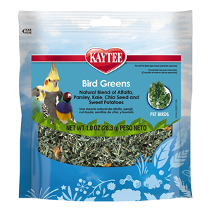 Bird Greens for Pet Birds