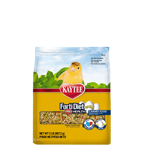Kaytee Forti-Diet Pro Health Egg-Cite! Canary