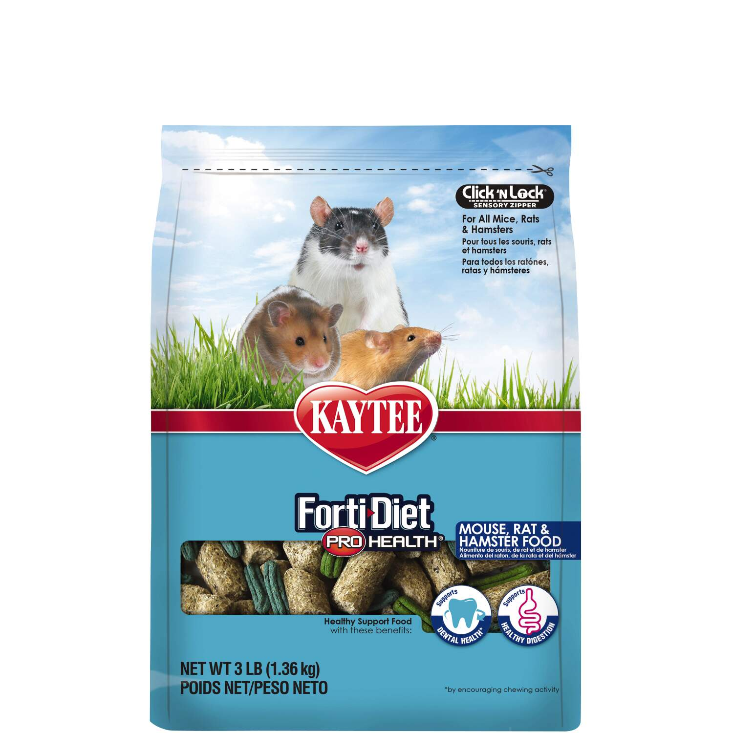 Forti-Diet Pro Health Mouse, Rat and Hamster Food : Premium Mouse ...