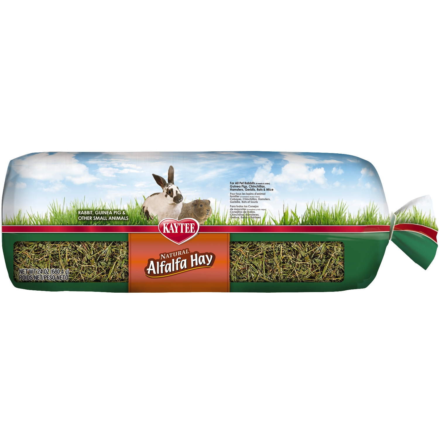 All Natural Alfalfa Hay Mini Bale 24 oz
