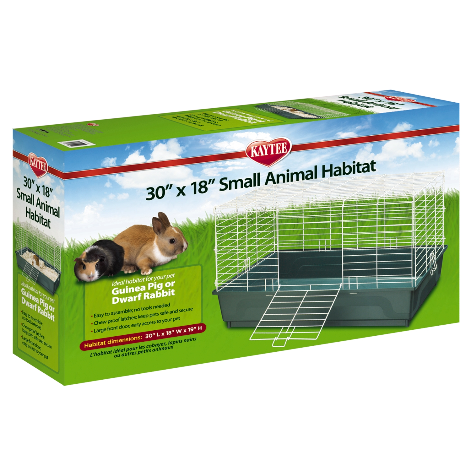 30 x 18 small animal habitat hamster u0026 guinea pig cages small animal cages u0026 habitats kaytee