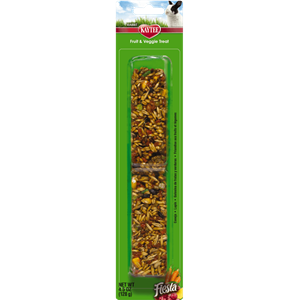 Kaytee Fiesta Fruit and Veggie Rabbit Treat Stick