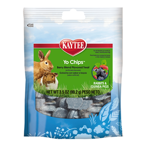 Kaytee Mixed Berry Flavor Yogurt Chips For Rabbit And Guinea Pig