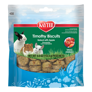 Kaytee Baked Apple Timothy Biscuits Small Animal Treats