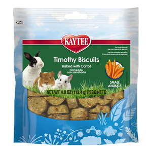 Kaytee Timothy Biscuits Baked Carrot Treat