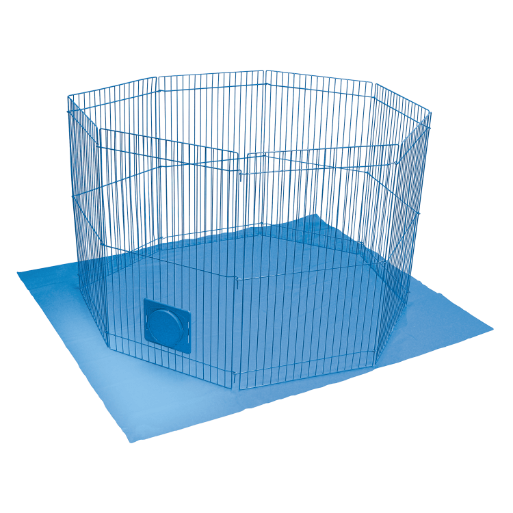 Pet-N-Playpen for Rabbits, Guinea Pigs, and Ferrets: Small Animal ...