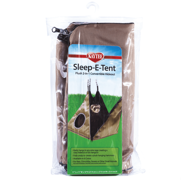 Ferret Super Sleeper Sleep-E-Tent  Small Animal Beds Sleepers u0026 Hideaways | Kaytee  sc 1 st  Kaytee & Ferret Super Sleeper Sleep-E-Tent : Small Animal Beds Sleepers ...
