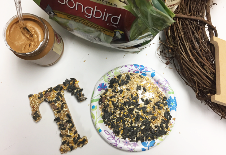 Wild Bird Thanksgiving Wreath