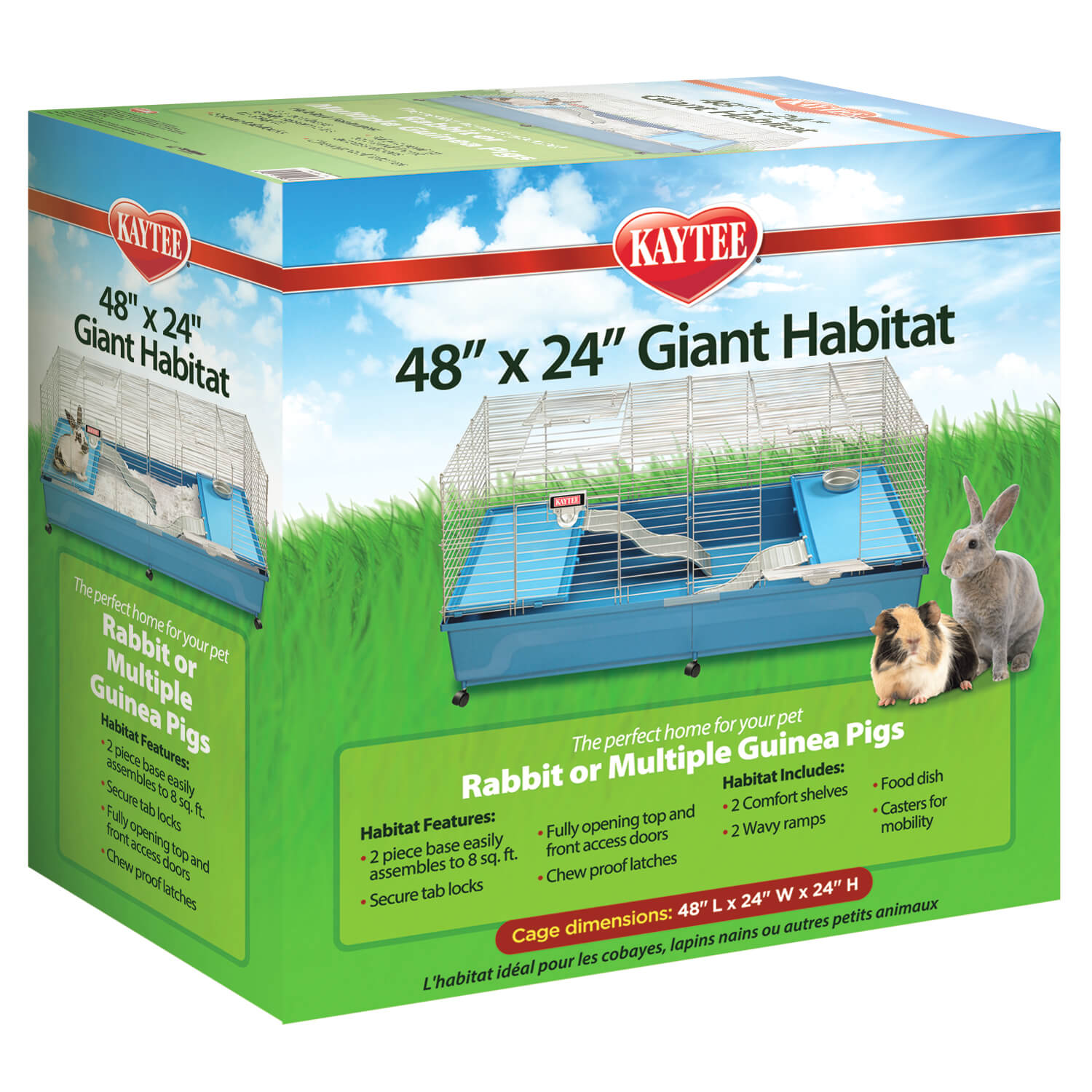 Giant Small Animal Habitat