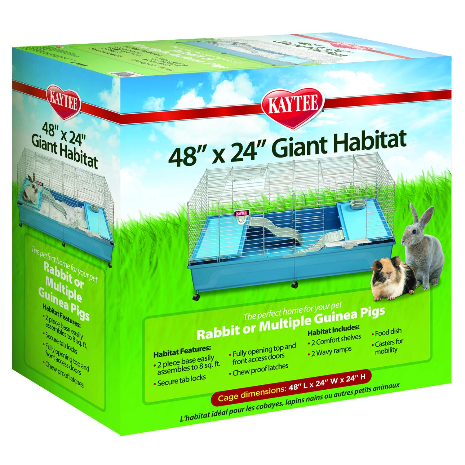Kaytee My First Home 48 x 24 Giant Habitat