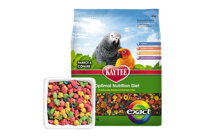 Exact Parrot and Conure Food