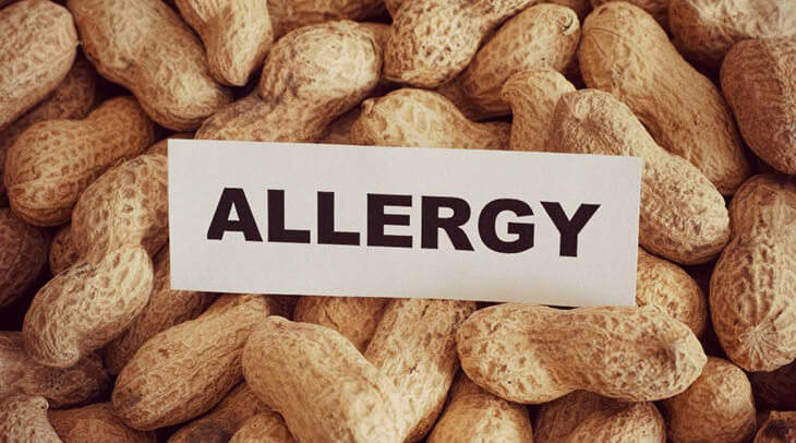 Peanut Allergy Warning