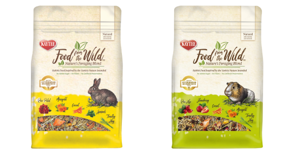 Kaytee Can I feed my small animal a product formulated for a different small animal?