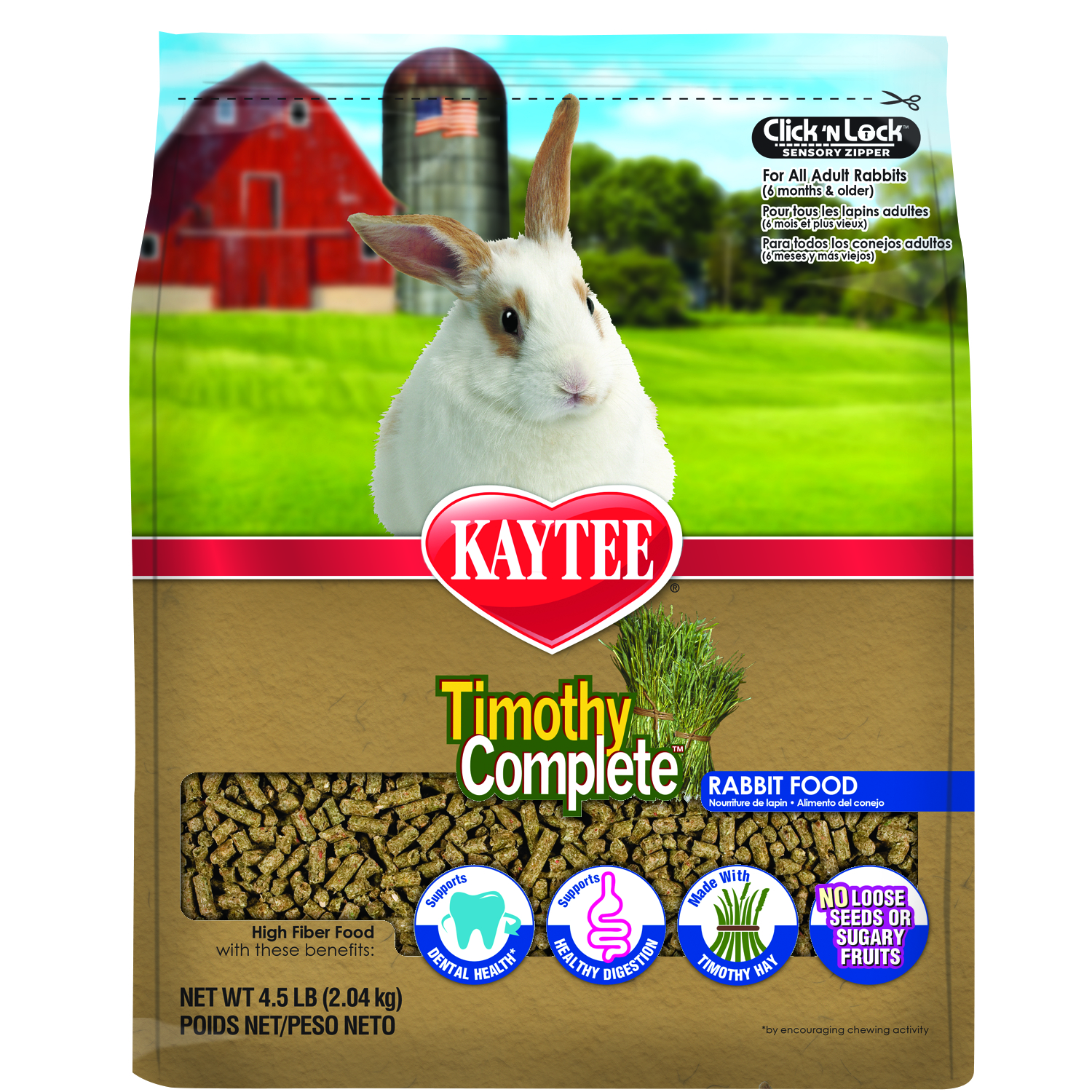 Timothy Complete Rabbit 4.5 lb