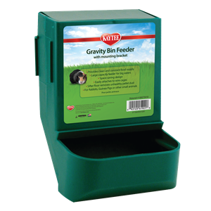 Kaytee Gravity Bin Feeder with Bracket
